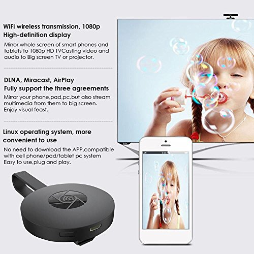 Kinpasy Streaming Media Players Miracast Dongle Digital ...
