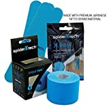 SpiderTech Pro Kinesiology Roll and FREE Bonus- Blue ( Universal X Spider 2 Pack)