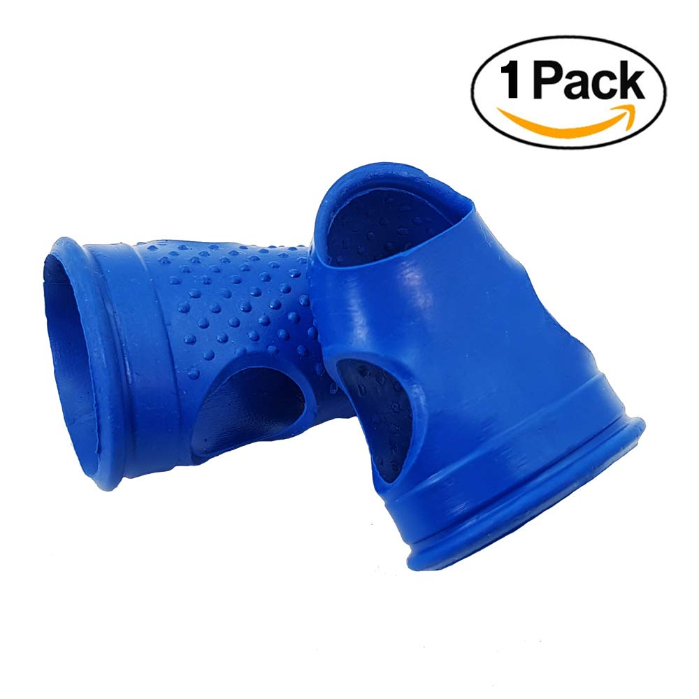 Rubber Fingers Tips Guard S-Size Cutting and Office Supplies tasks Thumb Paper Gripper for Your Paperwork Small Anti Slip Rubbers pad Gel Silicone Timble CLAIRLA
