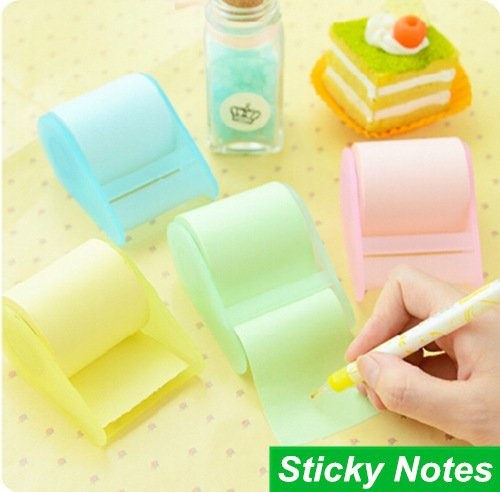Sticky Notes Set Fluorescent Paper Memo Pad Stickers Material Escolar Papelaria Office Accessories by Office & School Supplies YingYing (Image #1)