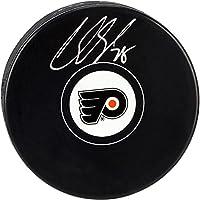 Claude Giroux Philadelphia Flyers Autographed Hockey Puck - Fanatics Authentic Certified - Autographed NHL Pucks
