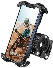 Autkors Fiets telefoonhouder, verstelbare fiets telefoonhouder voor fiets, motorfiets, telefoonhouder, 360 graden draaibaar, anti-shake super stabiel voor 4,7 inch tot 7 inch smartphones