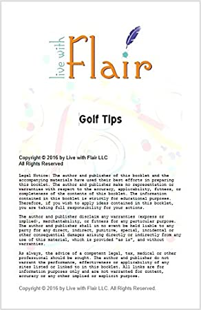 Amazon.com: Live with Flair Bundle Incluye Golf Club Groove ...