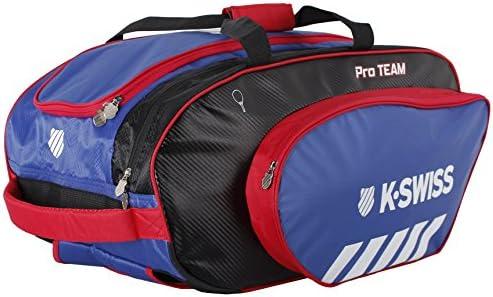 K-Swiss Hypercourt Pro Team Racket Holder Mochila, Tenis, Rojo ...