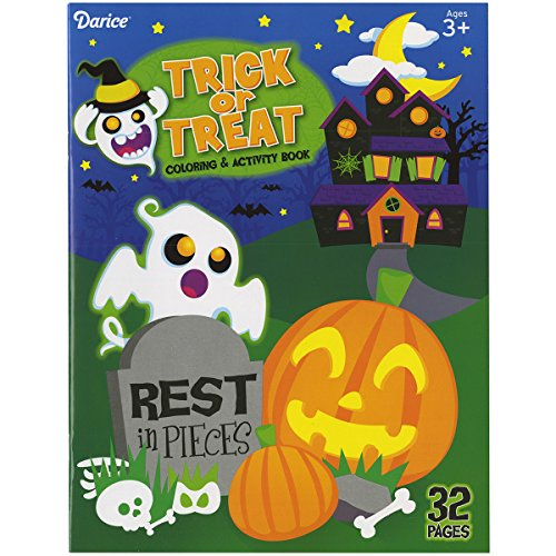 Darice Trick or Treat Coloring Book