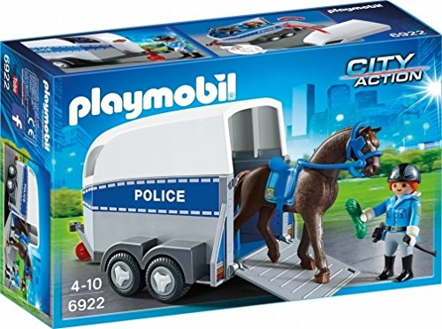 Playmobil Horse Trailer - PLAYMOBIL® 6922 City Action Police with Horse and Trailer
