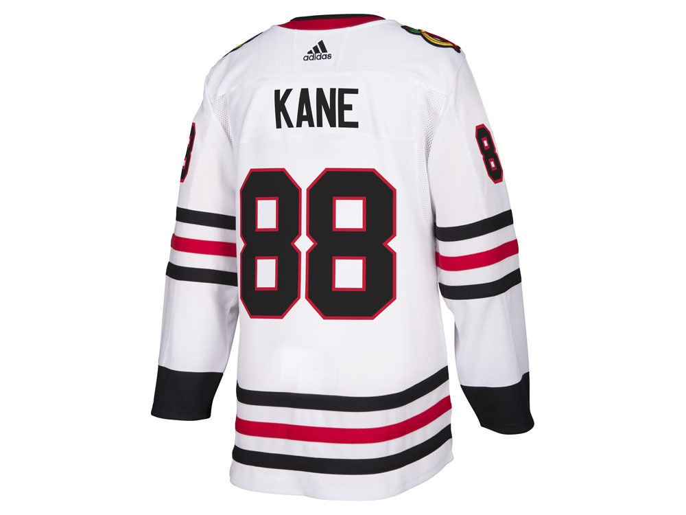 96f36df371a Amazon.com : adidas Patrick Kane Chicago Blackhawks Authentic Away NHL  Hockey Jersey : Sports & Outdoors