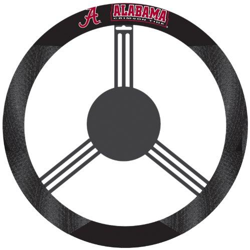 NCAA Alabama Crimson Tide Polysuede Steering Wheel Cover