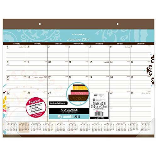 GLANCE Calendar Monthly Suzani SK17 704