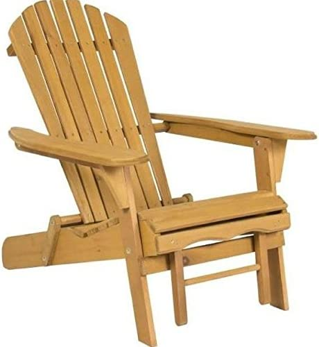 Amazon Com New Elegant Adirondack Outdoor Wood Chair Folding