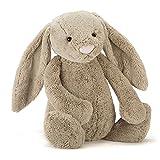 Jellycat Bashful Beige Bunny, Really Big, 31 inches