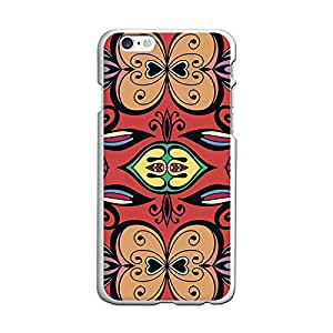 Funda Gel iPhone 6S & 6 BeCool Carmine Pattern