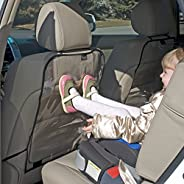 Jolly Jumper Car Seat Back Protector- Transparent, 2 count