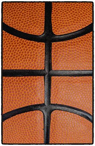 Brumlow Mills EW10059-20x34 Slam Dunk Basketball Accent Rug, 1'8