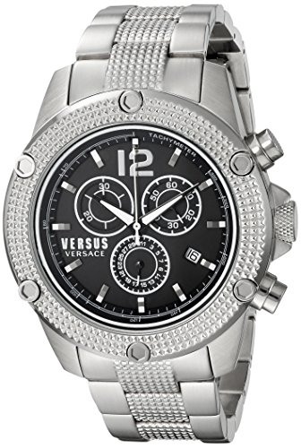 Versus-by-Versace-Mens-AVENTURA-Quartz-Stainless-Steel-Casual-Watch-ColorSilver-Toned-Model-SOC100015
