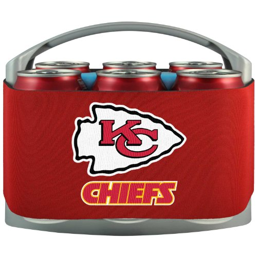 NFL Kansas City Chiefs Cool Six Cooler by Topperscot