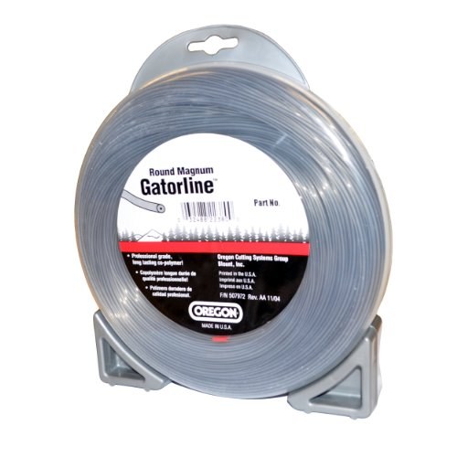 Oregon 22-270 Heavy-Duty Professional Magnum Gatorline Round String Trimmer Line .170-Inch Diameter 1/2-Pound Donut by Oregon