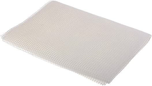 kesoto White Blank Rug Hooking Mesh Canvas for Latch Hooking Crafts Making 150 X 100Cm
