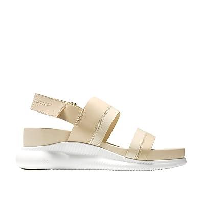 37d8a9117 Cole Haan Women s 2 Zerogrand Slide Sandal 30mm 10 Brazilian Sand-Optic  White