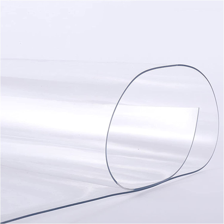 Runner Rug Clear Vinyl (Plastic) Dustproof Waterproof, Carpet Protectors, Hardwood Floor Mat, Kitchen Living Room Office Area Rug (Size : 120×200cm/4×6.6ft)