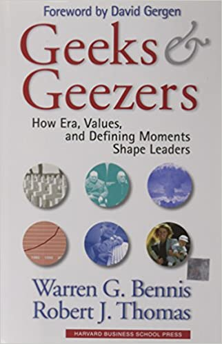 Geeks and geezers warren g bennis robert j thomas geeks and geezers first edition first printing edition fandeluxe Images