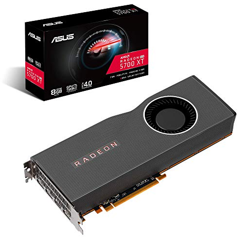 ASUS AMD Radeon RX 5700 XT PCIe 4.0 VR Ready Graphics Card with 8GB GDDR6 Memory and Support for up to 6 Monitors (RX5700XT-8G) ()