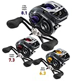 Daiwa Fuego 100 High Speed Left Hand Baitcasting Reel For Sale