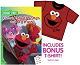 Sesame Street: Elmo's Travel Songs and Games (With Bonus Elmo T-Shirt)