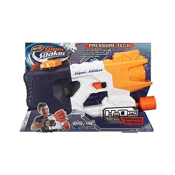 Nerf - Super Soaker Pistola d'acqua H20 Tornado Scream 2 spesavip