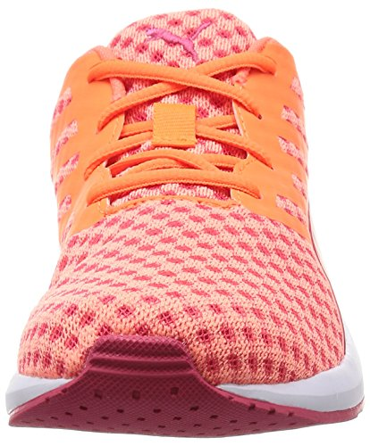 Puma Flare Wn's, Zapatillas para Mujer Naranja (fluo peach/rose red/white)