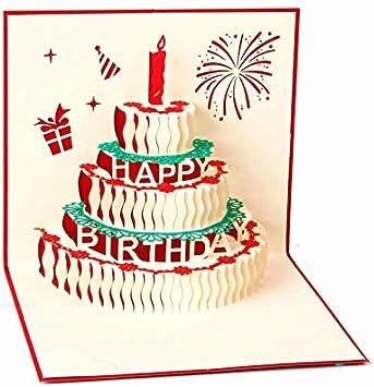 Fine Amazon Com Phantom Hub Pop Up Card Pop Up Birthday Cake Card Personalised Birthday Cards Petedlily Jamesorg