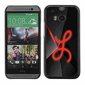 Shell-Star ( L ) Fundas Cover Cubre Hard Case Cover para All New HTC One (M8)