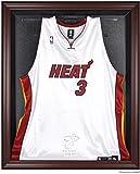Miami Heat Mahogany Finished Logo Jersey Display Case