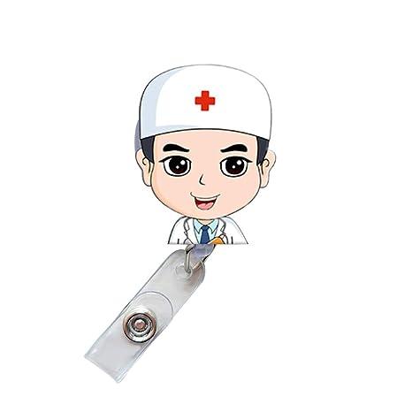 Amazon.com: AYHU - Carrete retráctil para enfermera, médico ...