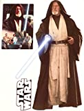 Obi-Wan Kenobi Mini FATHEAD Star Wars Logo Set of 3 Vinyl Wall Graphics 7