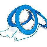 3Pcs Blue Masking Tape High Temperature 3mm x 55m