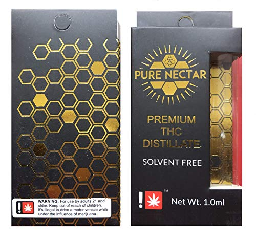 Empty Cartridge Packaging Gift Window Cart Boxes Pure Nectar (25)