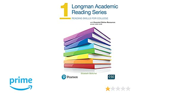 Longman academic reading series 1 with essential online resources longman academic reading series 1 with essential online resources elizabeth bottcher 9780134663395 amazon books fandeluxe Image collections
