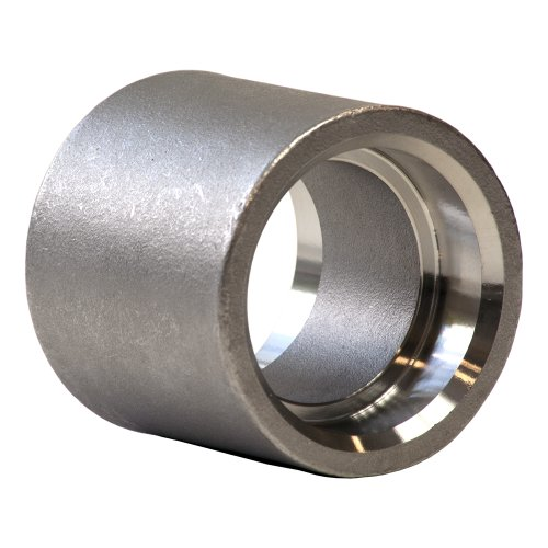 Stainless Steel 316 Cast Pipe Fitting, Coupling, Socket Weld, MSS SP-114, 1/2