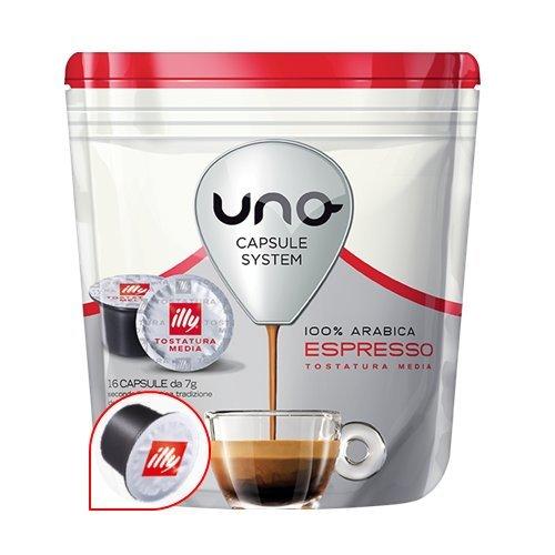 4 opinioni per 96 Cialde Uno Capsule System Illy Espresso Media Arabica Originali Break Shop