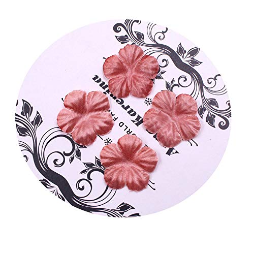 FAT SHEEP 100pcs Artificial Flowers Roses Petal Leaf Silk for Wedding Home Decoration DIY Scrapbooking Flores Accessories Plant -