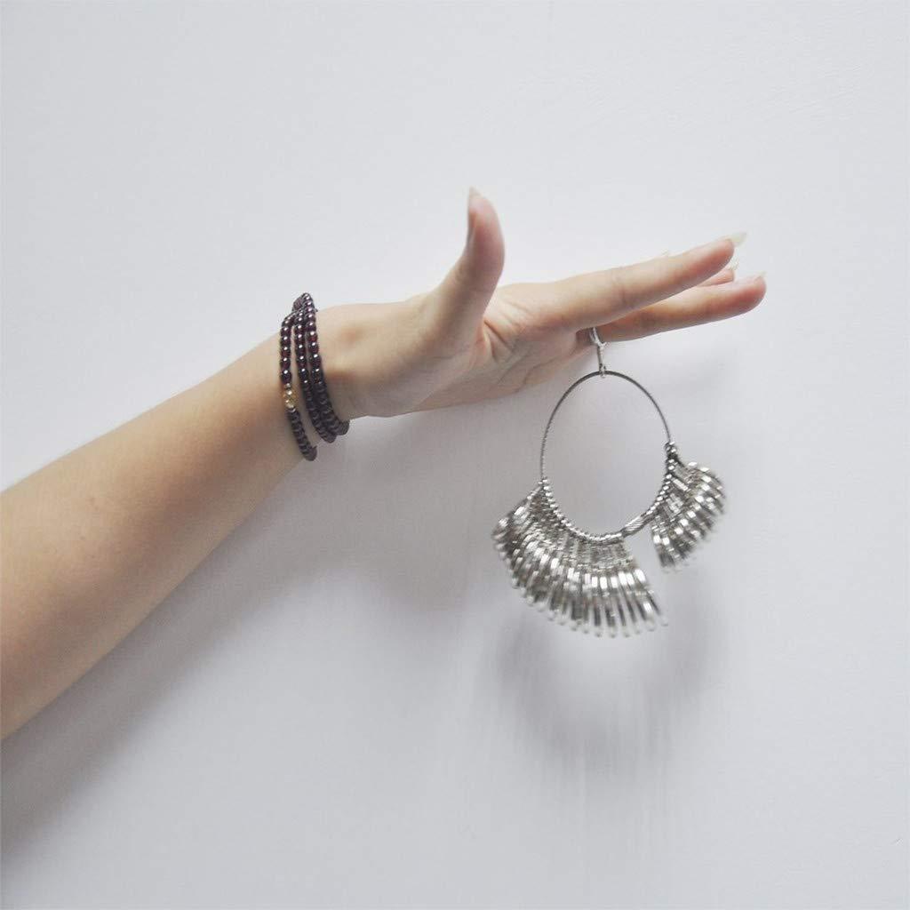 MASIKI Ring Size Stick Mandrel Finger Gauge Ring Sizer Set Measuring Sizes Jewelry Tool UK US General Purpose