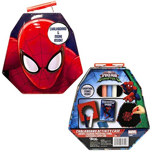 Spiderman Chalkboard Tin