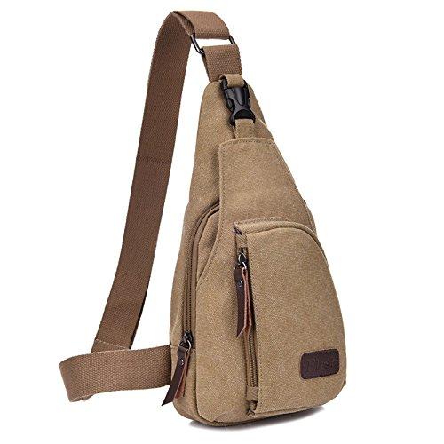 Hongrun Männer kleine Brust pack Sport Leinwand gebunden männlichen Paket Multifunktion outdoor Rampe Paket Tasche. 1BRpNbcJu