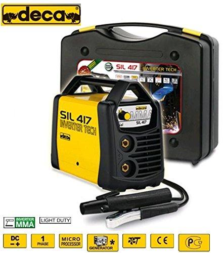 Equipo de soldadura TIG de electrodos y 170 Amp Estuche con accesorios y Deca-SIL 417: Amazon.es: Bricolaje y herramientas