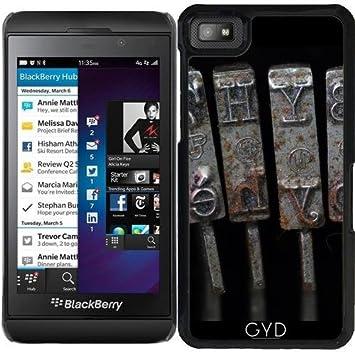 DesignedByIndependentArtists Funda para Blackberry Z10 - Vieja Máquina De Escribir by Carsten Reisinger