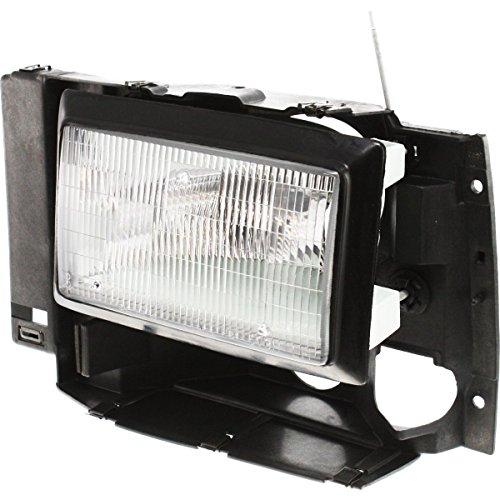 Diften 114-A0374-X01 - 89-94 Ford Pickup Truck Headlamp Headlight Driver Side Left LH