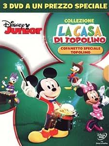 la casa di topolino - cofanetto speciale topolino (3 dvd) box set dvd Italian Import