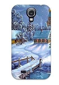 New Arrival Galaxy S4 Case Winter Dreamland Case Cover