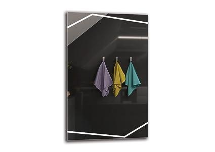 Specchio led premium dimensioni dello specchio 50x80 cm specchio